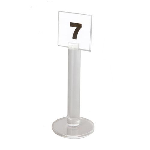 Numeración mesa