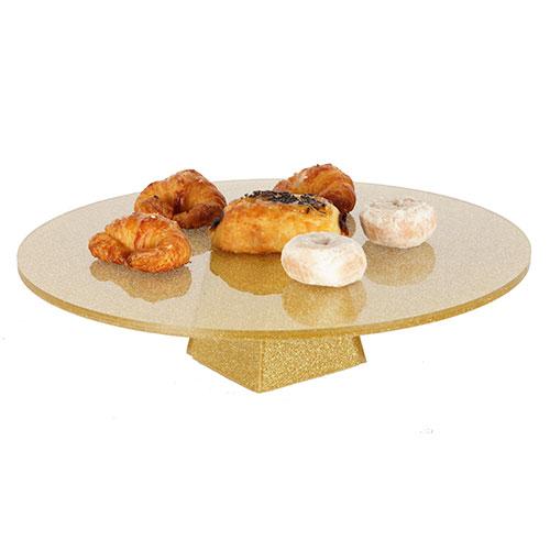 Alzada baja redonda para pinchos/buffet/dulces