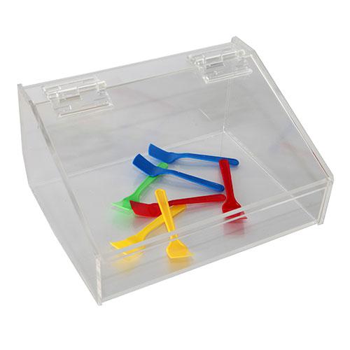 Caja para cucharillas