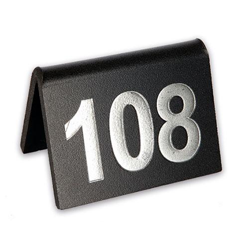 Numeración con sujetamantel 3 cifras