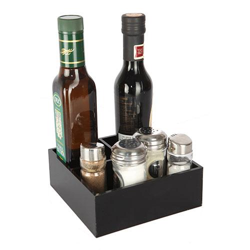 Bandeja 3 compartimentos para aceites y condimentos