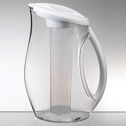 Jarra cristal con enfriador